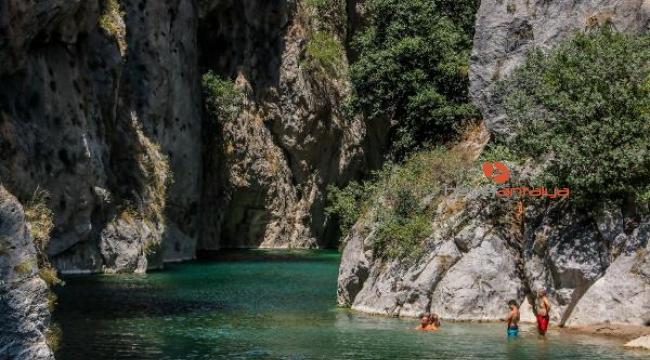 Antalya'nın gizli doğa harikası 'Kapuz Kanyonu'