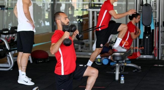 Antalyaspor'un fitness mesaisi