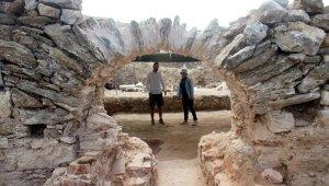 Antiocheia Ad Cragum Antik Kenti'nde yeni yerler gün yüzüne çıkartıldı