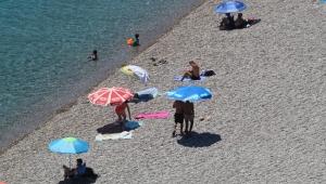 Çöl sıcakları Antalya'yı kavuruyor 46 DERECE !