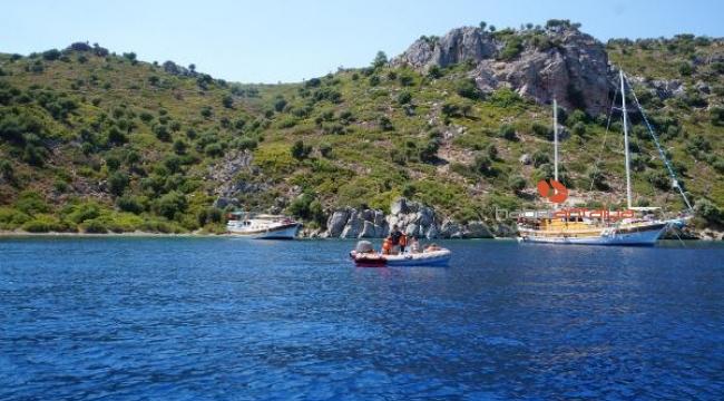Marmaris'te adaya terk edilen eşek, bulunamadı