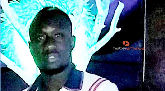 Mbaye Diagne, Antalya'da tatil yaptı
