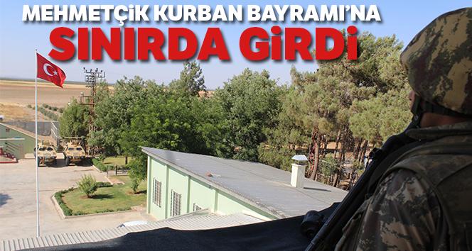 Mehmetçik Kurban Bayramı'nı Hudut Karakolu'nda karşıladı