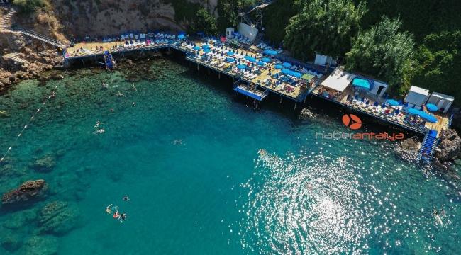 Muratpaşa Belediyesi plaj ve kafeleri bayram süresince hizmet verecek