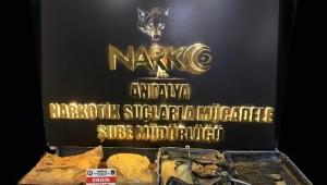 Antalya Havalimanı'nda 3,5 kilogram eroin ele geçirildi: 2 tutuklama