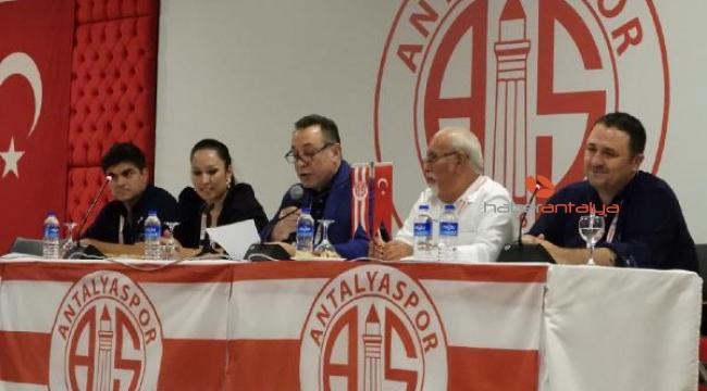 Antalyaspor Kulübü Derneği genel kurulu yapıldı