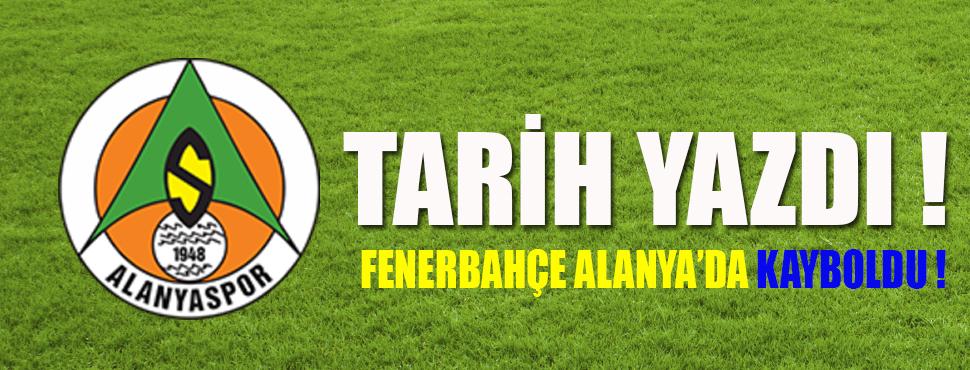 Aytemiz Alanyaspor: 3- Fenerbahçe: 1