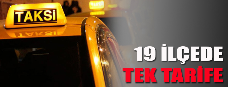 Başkan Böcek: 19 ilçede tek taksimetre tarifesi olacak