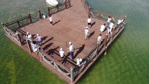 Çocuk Esirgeme Kurumu öğrencilerinin balık tutma serüveni