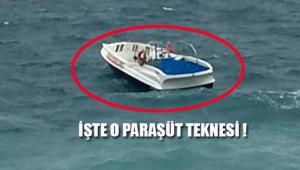 Deniz paraşütünün halatı koptu; 20 metreden düşen 2 turist ağır yaralı !