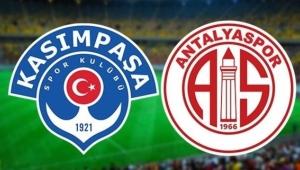 Kasımpaşa: 3 - Antalyaspor: 0