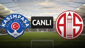 Kasımpaşa-Antalyaspor | CANLI ANLATIM.