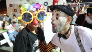 Kepez'in Sokak Festivali'nde çocuklar mutlu