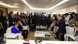 Meral Akşener Büyükşehir Belediyesini ziyaret etti ...