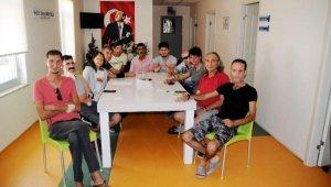 Nakil olanlar ve nakil bekleyenler Antalya'da buluştu