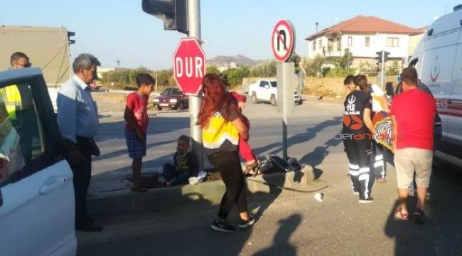 Öğrenci servisi kaza geçirdi : 7 yaralı