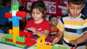 Okullar açıldı Kitap ve Oyuncak Kütüphanesi şenlendi