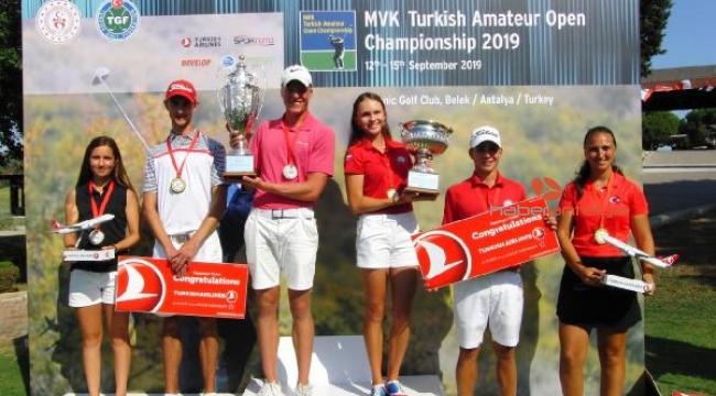 Uluslararası Türkiye Amatör Açık Şampiyonası sona erdi