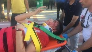 Akdeniz Üniversitesi kampüsünde kaza : 3 yaralı