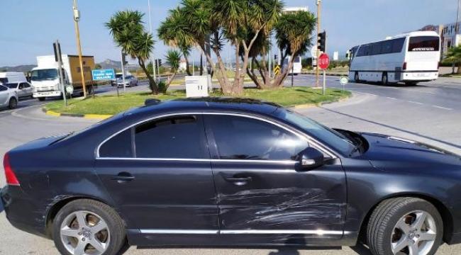 Alkollü sürücü, vali yardımcısının bulunduğu otomobile çarptı