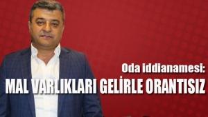Antalya Şoförler ve Otomobilciler Odası iddianamesi: Mal varlıkları gelirle orantısız