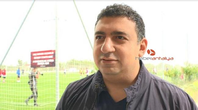 Antalyaspor Başkanı Öztürk: Galibiyet istiyoruz
