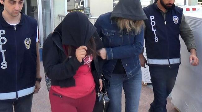 Fuhuş operasyonunda 4 kişi gözaltına alındı.