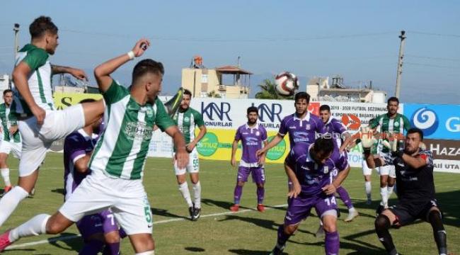 Serik Belediyespor - Artvin Hopaspor: 2-2
