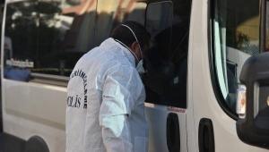 Tur şirketi şoförü, minibüste ölü bulundu