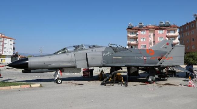 Türkiye'nin ilk kadın hava şehidinin adı, F-4 Fantom savaş uçağıyla anılacak