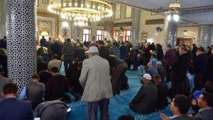 Ahmet Bilgin Cami Törenle açıldı