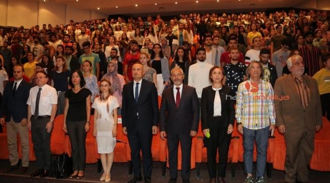 Akdeniz Üniversitesinde Ulu Önder Mustafa Kemal Atatürk anıldı
