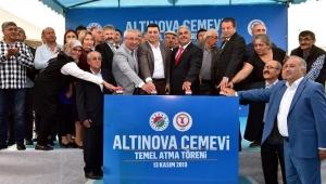 Altınova cemevinin temeli atıldı