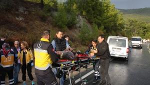 Korkunç trafik kazası: 1 ölü, 2 yaralı