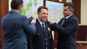 Antalya Emniyeti'nde rütbe terfi töreni
