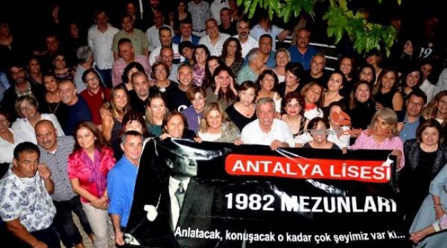 Antalya Lisesi mezunlar buluşması