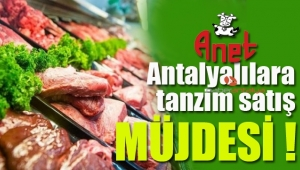 Antalya Tanzim Satış Mağazası Kepez'de açılıyor