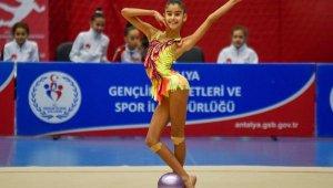 Antalya'da cimnastik heyecanı