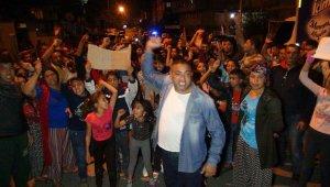 Antalya'da mahalleli hız-kes yapılması için sokağa döküldü