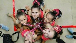 Antalyaspor cimnastik takımı Türkiye üçüncüsü