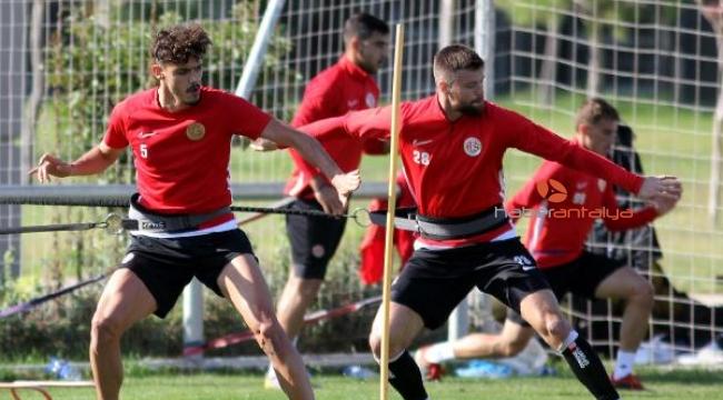 Antalyaspor'da Gaziantep mesaisi