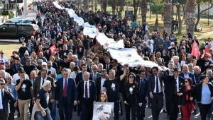 Ata'nın izinde 'Saygı Yürüyüşü'
