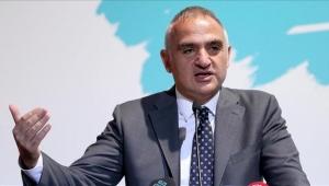 Bakan Ersoy, Tamince'nin Turizm Tanıtım Ajansı'na atanmasını savundu