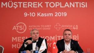 Başkan Böcek, ATSO Meslek Komitelerini dinledi