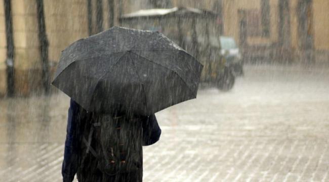 Batı Akdeniz'de 3 gün yağış