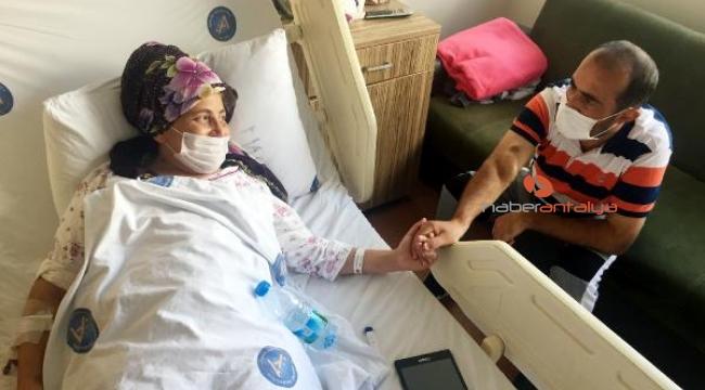 Böbrek hastası çifte, 15 gün arayla nakil