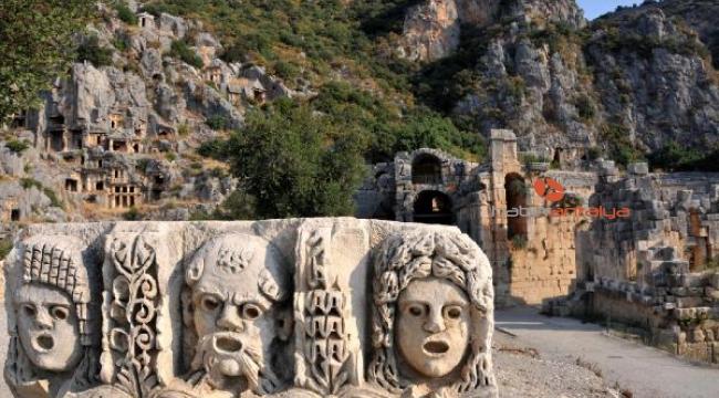Demre'nin altında, alüvyonla kaplı antik kent keşfedi
