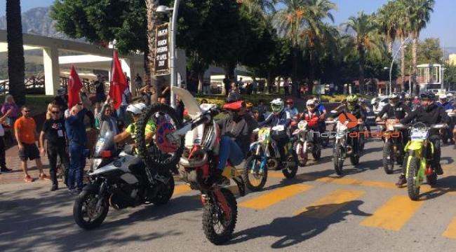 Enduro ve ATV Şampiyonası 3'üncü ayak yarışları başladı