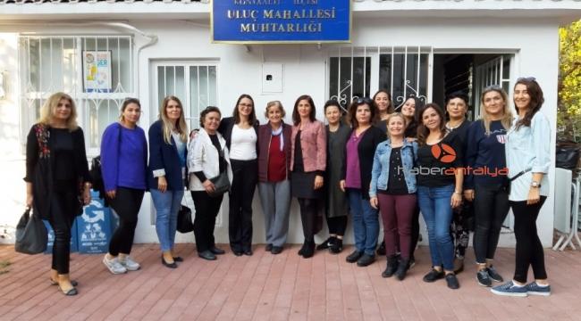 Kadına yönelik şiddete karşı mahalle buluşmaları başladı