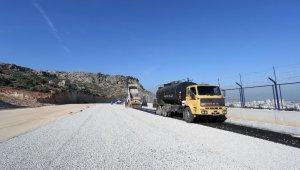 Kepez'den Antalya manzaralı bulvar